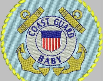 MILITARY HONOR U.S. Coast Guard Embroidery Design Collection