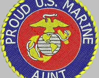 MILITARY HONOR Marine Embroidery Design Collection