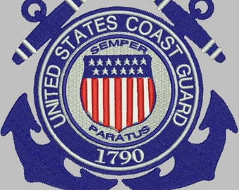 US Coast Guard Embroidery Collection