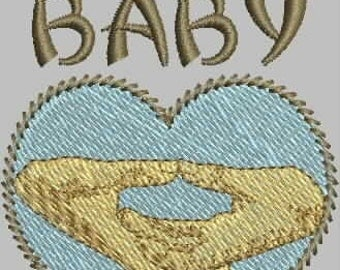 THE ZEN BABY Embroidery Design