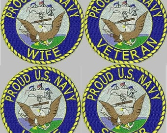 MILITARY HONORS Navy Embroidery Designs