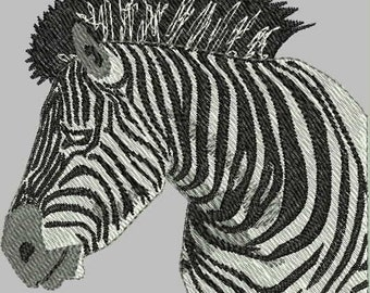 Wild Zoo Animal Embroidery Designs