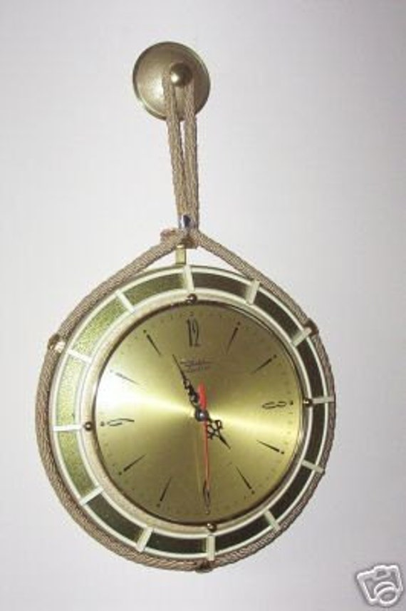 Vintage Diehl Electro Wall Clock Battery Operated