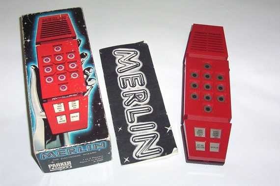 Vintage Collectible 1978 Parker Brothers MERLIN Electronic Wizard Game