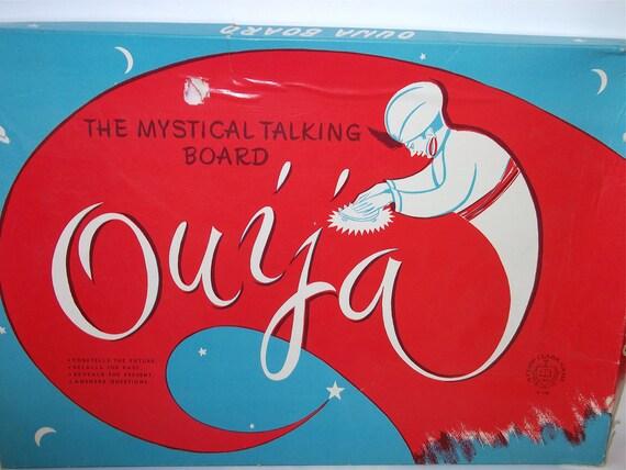 Vintage Ouija Board: 1950's Mystical Talking Board - RARE