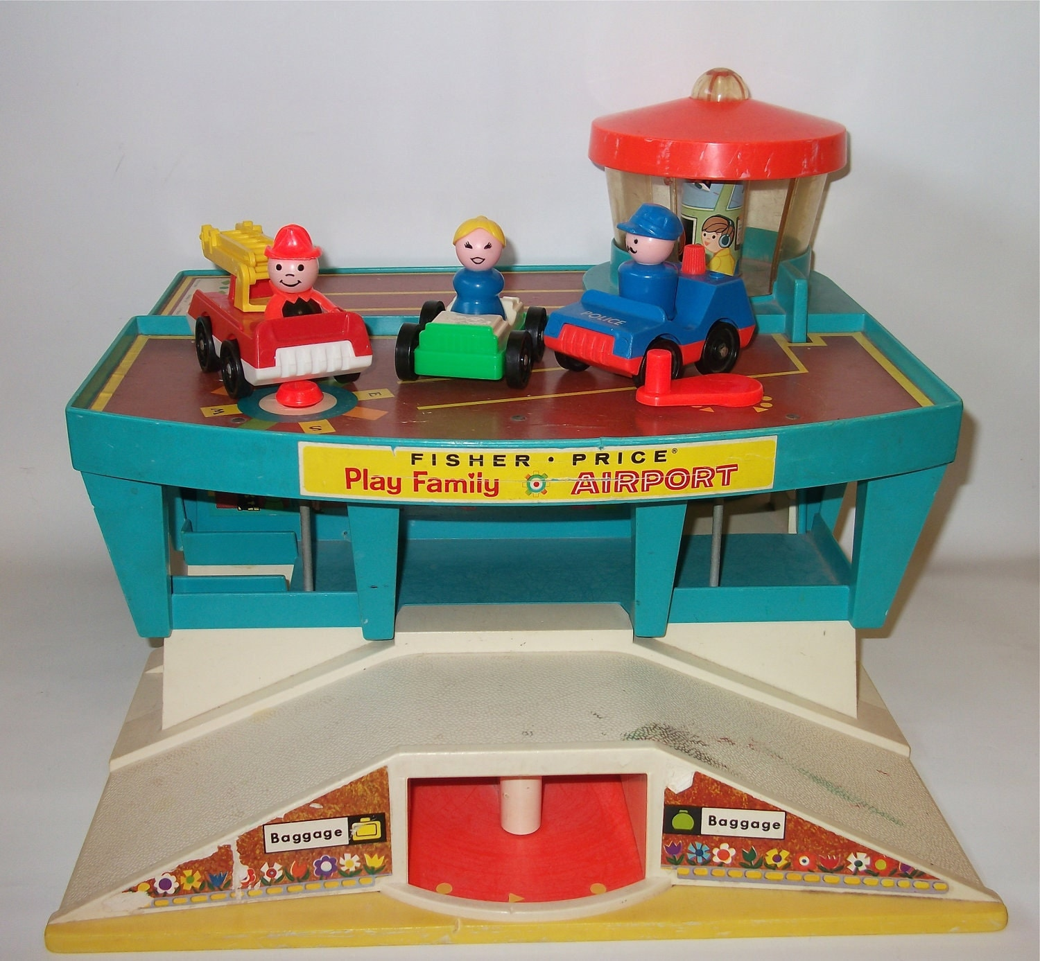 Classic Fisher Price Toys : Vintage fisher price airport playset play family