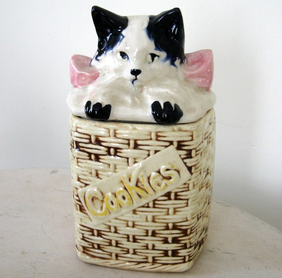 McCoy Kitten Cookie Jar