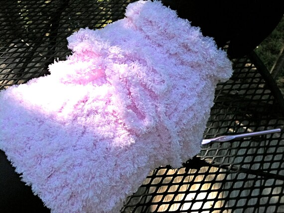 Immediate Download - PDF Crochet Pattern for a Cuddly Soft Easy Dog Sweater For Your Chihuahua, Min-Pin, or Small Breed Dog