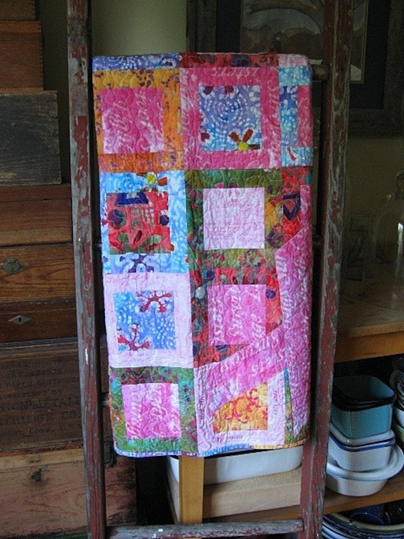 echo memory quilt--custom made to stir your memories