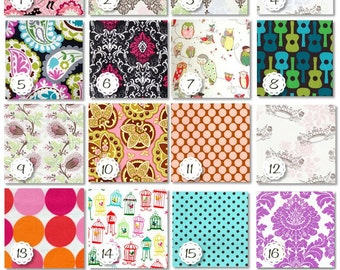 ANY 3 Toddler BIBS - You Choose from 48 Fabrics
