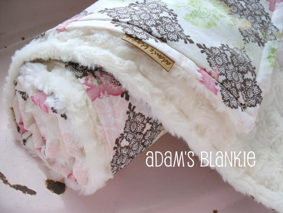 PATTERN - pdf Pattern/Instructions - diy Stroller Blankie and Swaddling Blankie - 2 in 1 - for Baby Shower Gifts - Do It Yourself