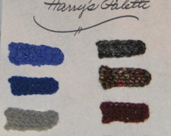 Harry's Palette for a Dorothy's Sweater Dream Coat with Weasley Sleeves
