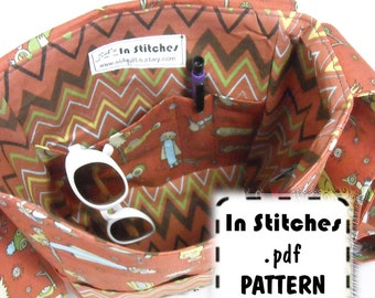 Mimi PDF Pattern Cross Body Messenger Bag EASY Instructions