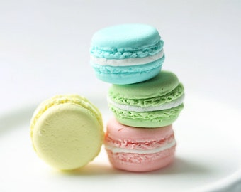 Bridesmaid Rings - French Macaron Ring - Pastel Colours - Gift Under 25