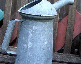 Vintage Farm Metal Industrial Oil Can