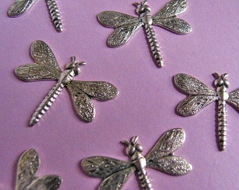 Silver plated Dragonflys Small (8)