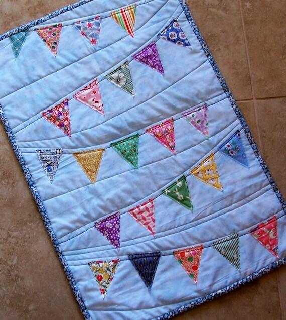 Birthday Bunting Mini Quilt