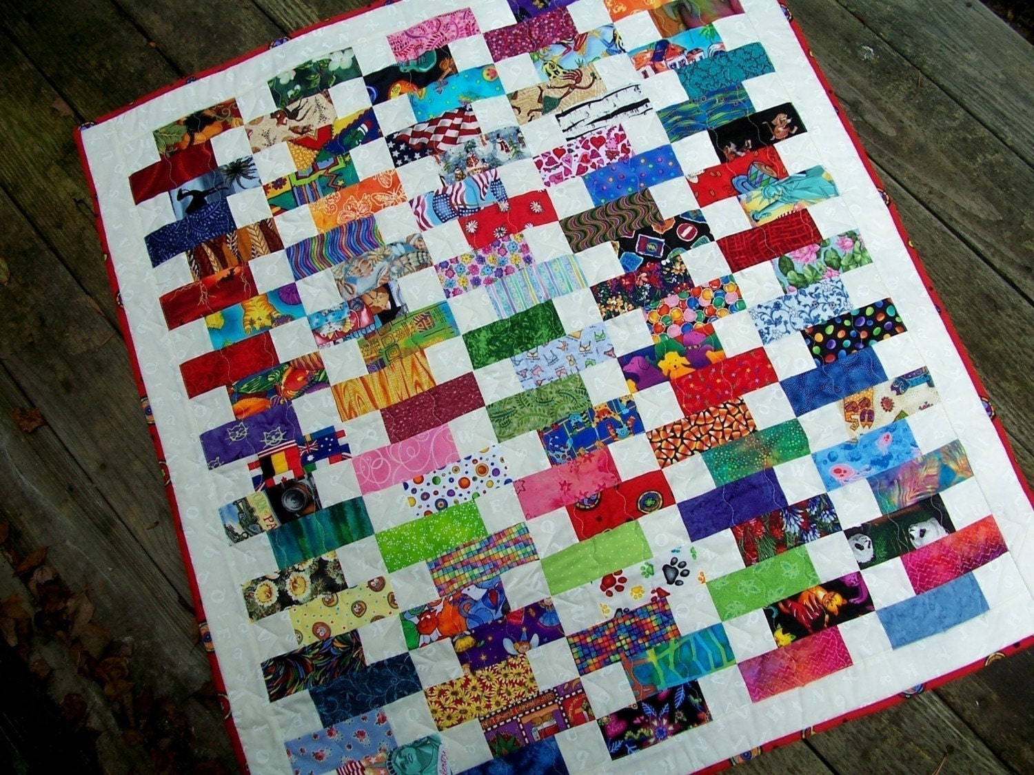 Baby Bricks Quilt Pattern Charm Pack And Jelly Roll Friendly