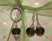 Chocoholics need only apply necklace and earring set - Super Sale