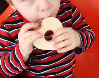 Wooden Heart Teether