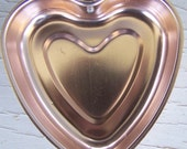 Retro Copper Heart Mold