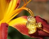Busy Bees in Honey - Post Earrings