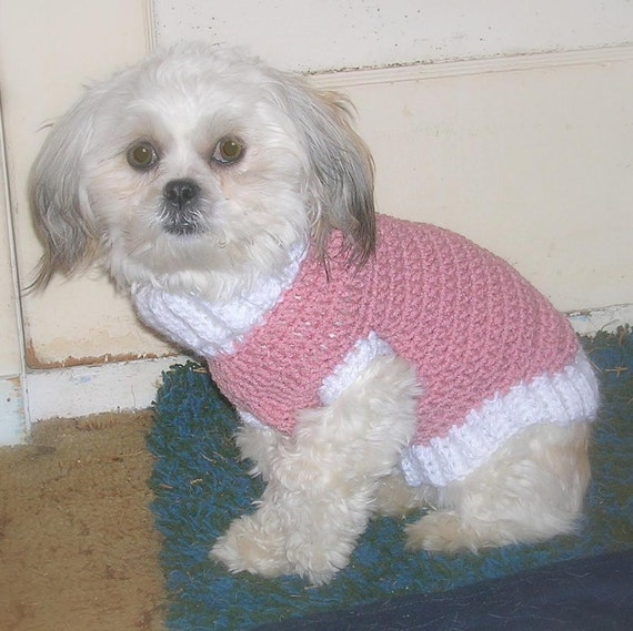 Crochet Dog Sweaters Small Free Patterns