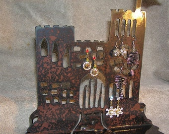 Castle for a Princess-Metal Art/Jewelry Holder