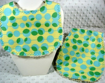 Burpie with Matching Bib for Baby