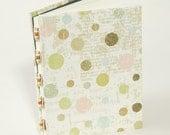 Journal, handmade diary, notebooks, writing journal, shabby chic journal
