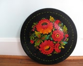 Flora Plate -- Decorative Wooden Kitchen Piece
