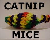 Hand-Crocheted Catnip Mouse