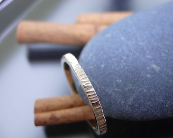 Textured Gold Band