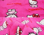 2638 - Japanese Cat Cotton Fabric - 57 Inch (Width) x 1/2 Yard (Length)