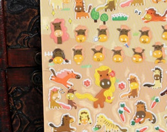 PVC Stickers (P164.02 - Horse)