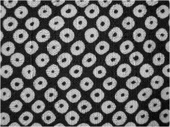 2156 - Japanese Dot Slubbed Cotton Fabric - 43 Inch (Width) x 1/2 Yard (Length)