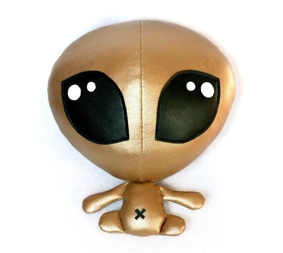 Alien Baby plush soft toy sewing Pattern - PDF