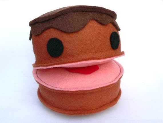 Felt Food Toys R Us : Crazy cake felt food soft toy pdf pattern with