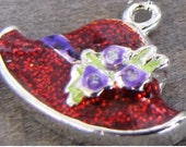 Red Hat Society Enamelled CHARM