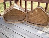 Corner Hutch Baskets custom made