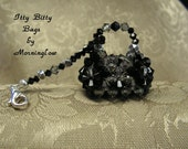 Itty Bitty Bags by Morninglow Purse or key ring charm
