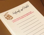 50 Advice Cards for the Bride and Groom