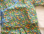 Double Tie Top baby outfit sized 6-12 months-One Fish Two Fish