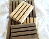 10 handcrafted hardwood Soap dishes, pack of ten, B1