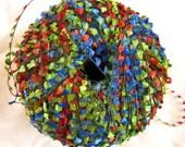 Alektra Powerful Yarns, flag yarn, red, green, blue, yellow