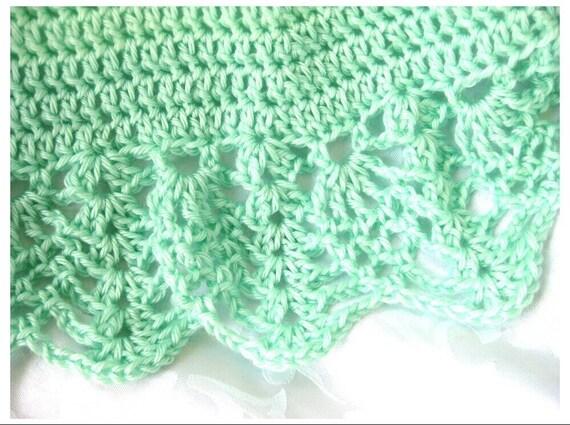 Round Baby Blanket Crochet Pattern, Pineapples for Baby Afghan Pattern,  PDF digital download