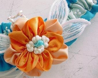 YOUR OWN  special custom desoign Wedding Garter set