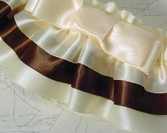 The ORIGINAL custom color TAILORED TAILORED wedding  garter