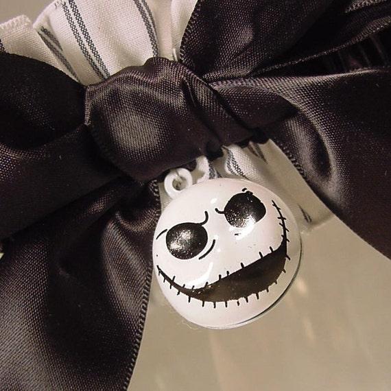 wedding garter JACK SKELLINGTON wedding garter Corpse Bride an  original Peterene design limited eddition