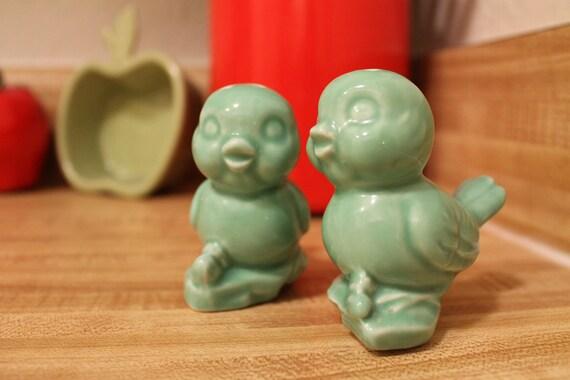 Ceramic Love Bird Salt & Pepper Shakers
